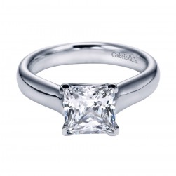 Gabriel Platinum Contemporary Engagement Ring ER6608PTJJJ