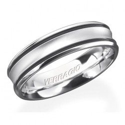 Verragio Platinum In-Gauge Wedding Band RU-6070