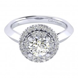 Gabriel 14 Karat Perfect Match Engagement Ring ER001B4AIW44JJ