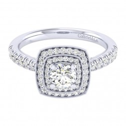 Gabriel 14 Karat Perfect Match Engagement Ring ER039A2AGW44JJ