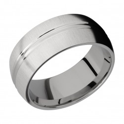Lashbrook 9DD Titanium Wedding Ring or Band