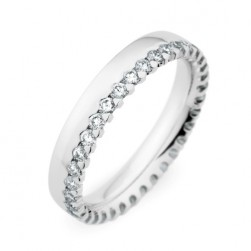 246858 Christian Bauer 14 Karat Diamond  Wedding Ring / Band