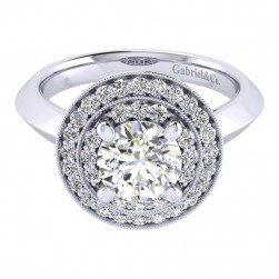 Gabriel 14 Karat Perfect Match Engagement Ring ER001C6AHW44JJ
