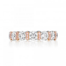 HT2512 Platinum Tacori Vault Diamond Wedding Ring