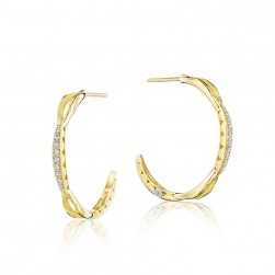 SE196Y Tacori Ivy Lane Gold Earrings