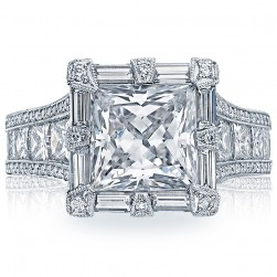 Tacori HT2601PR85 18 Karat RoyalT Engagement Ring