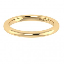 Gabriel 14 Karat Contemporary Wedding Band WB7721Y4JJJ