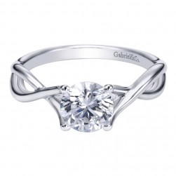 Gabriel Platinum Contemporary Engagement Ring ER7517PTJJJ