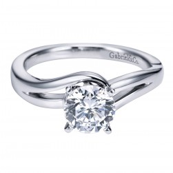 Gabriel Platinum Contemporary Engagement Ring ER6680PTJJJ
