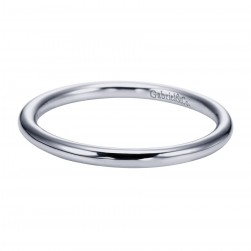 Gabriel Platinum Contemporary Wedding Band WB6940PTJJJ