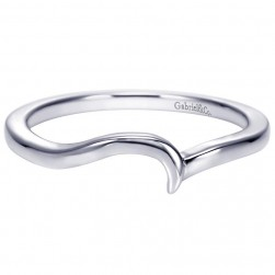 Gabriel Platinum Contemporary Wedding Band WB7909PTJJJ