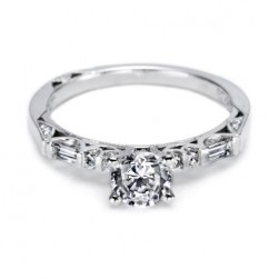 Tacori 18 Karat Simply Tacori Solitaire Engagement Ring 2585RD55