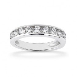 Diamond Channel Set Band 14 Karat Taryn Collection TQD B-2425
