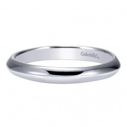 Gabriel 14 Karat Contemporary Wedding Band WB8955W4JJJ