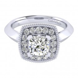 Gabriel 14 Karat Perfect Match Engagement Ring ER001C6AKW44JJ