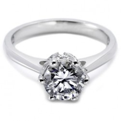 Tacori 18 Karat Solitaire Engagement Ring 2501RD6