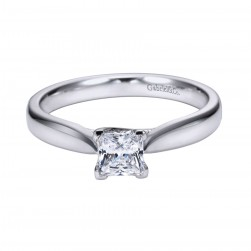 Gabriel Platinum Contemporary Engagement Ring ER6594PTJJJ