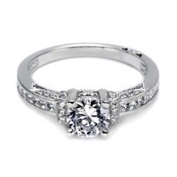 Tacori 18 Karat Simply Tacori Engagement Ring 2609RD6