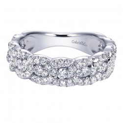 Gabriel Fashion 14 Karat Lusso Diamond Ladies' Ring LR6429W44JJ