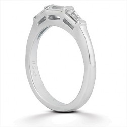 Taryn Collection Platinum Wedding Ring TQD B-201