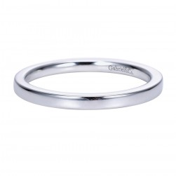 Gabriel Platinum Contemporary Wedding Band WB7902PTJJJ