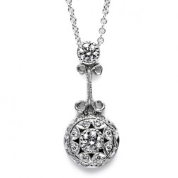 Tacori Diamond Necklace 18 Karat Fine Jewelry FP555