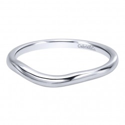 Gabriel 14 Karat Contemporary Wedding Band WB10499W4JJJ