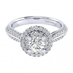 Gabriel 14 Karat Perfect Match Engagement Ring ER002B3AIW44JJ