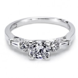 Tacori 18 Karat Simply Tacori Engagement Ring 2593RD55