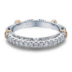 Verragio Parisian-116W Platinum Wedding Ring / Band