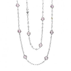 SN10813 Tacori 18k925 Necklace Silver & Gold