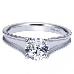 Gabriel 14 Karat Contemporary Engagement Ring ER9089W4JJJ