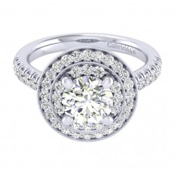 Gabriel 14 Karat Perfect Match Engagement Ring ER039C6AHW44JJ