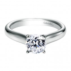 Gabriel 14 Karat Contemporary Engagement Ring ER6639W4JJJ