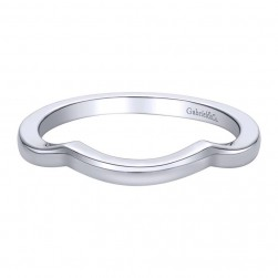 Gabriel 14 Karat Contemporary Wedding Band WB9651W4JJJ