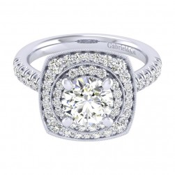 Gabriel 14 Karat Perfect Match Engagement Ring ER039C6AFW44JJ