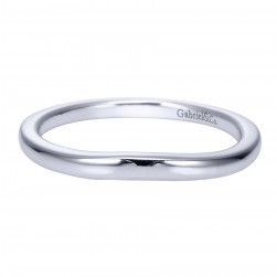 Gabriel Platinum Contemporary Wedding Band WB8075PTJJJ