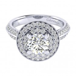 Gabriel 14 Karat Perfect Match Engagement Ring ER002C6AHW44JJ