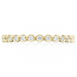 Tacori 200-2Y 18 Karat Sculpted Crescent Wedding Ring