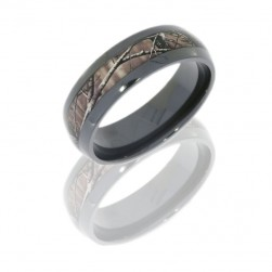Lashbrook Z8D14/RTAP POLISH Camo Wedding Ring or Band