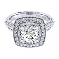 Gabriel 14 Karat Perfect Match Engagement Ring ER002C6AGW44JJ