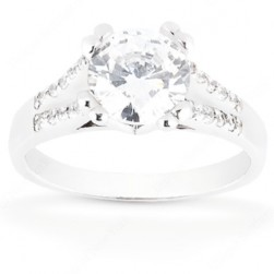 Taryn Collection 14 Karat Diamond Engagement Ring TQD 57-264