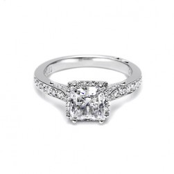Tacori Platinum Dantela Engagement Ring 2620PRSMP