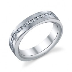 246684 Christian Bauer 14 Karat Diamond  Wedding Ring / Band