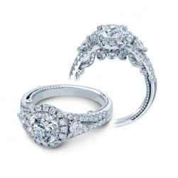 Verragio Insignia-7068RL Platinum Engagement Ring