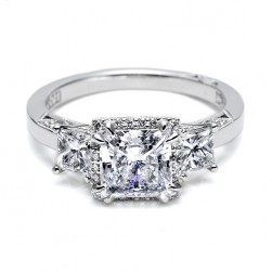 Tacori Platinum Dantela Engagement Ring 2622PRMD