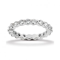 Eternity Diamond Band 14 Karat Taryn Collection TQD 6-10-024