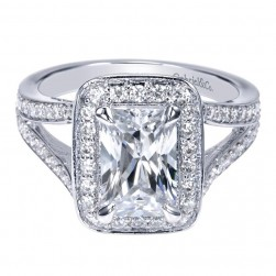 Gabriel 14 Karat Contemporary Engagement Ring ER9079W44JJ