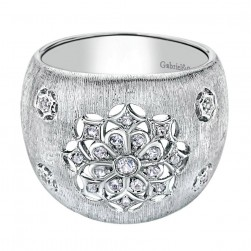 Gabriel Fashion Silver Madison Ladies' Ring LR6965SVJWS