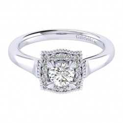 Gabriel 14 Karat Perfect Match Engagement Ring ER009A2AAW44JJ